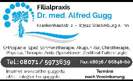 Bild zu Orthopädische Praxis Dr.med. Alfred Gugg in Waldkraiburg