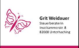 Logo von Weidauer Grit