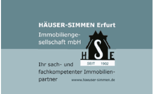 Bild zu HÄUSER-SIMMEN Immobiliengesellschaft mbH in Erfurt