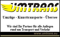 umtrans - umzüge - kunsttransporte