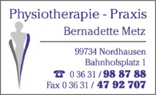 Logo von Physiotherapie Metz Bernadette