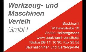 Bockhorni Maschinenverleih GmbH