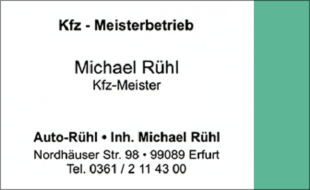 Logo von Autoservice Michael Rühl