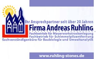 Bild zu Ruhling, Andreas Fachbetrieb für Mauerwerkstrockenlegung undSchimmelbeseitigung in Erfurt