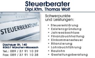Bild zu Wolf Thomas Dipl.-Kfm. in München