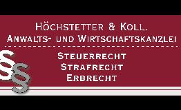 Höchstetter & Koll. Rechtsanwalt Dr. Klaus Höchstetter, M.B.L.-HSG