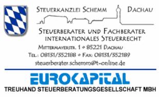 Bild zu Peter Schemm, Steuerberater und Fachberater für Internationales Steuerrecht in Dachau