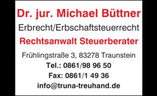 Bild zu Büttner Michael Dr. jur. Rechtsanwalt Steuerberater in Traunstein