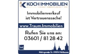 Bild zu KOCH IMMOBILIEN e.K. in Mühlhausen in Thüringen