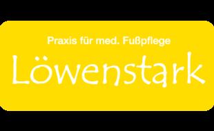 Logo von Löwenstark - Praxis für med. Fußpflege; M. Hörber