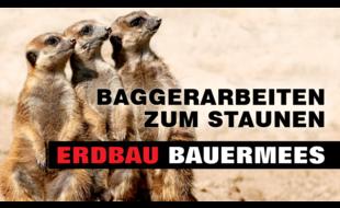 BAUERMEES ERDBAU, Baggerarbeiten zum Staunen