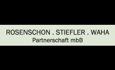 Logo von Rosenschon . Stiefler . Waha ., Partnerschaft mbB