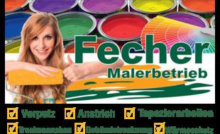 Bild zu Malerbetrieb Fecher in Obernau Stadt Aschaffenburg