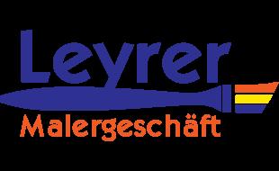 Logo von Leyrer Malergeschäft