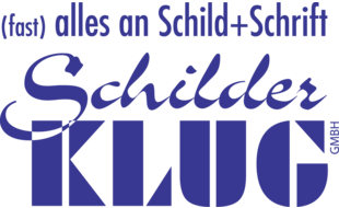 Logo von Schilder-Klug GmbH