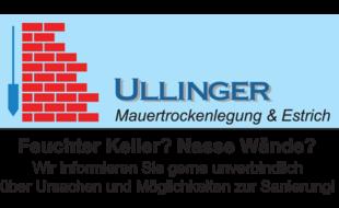 Mauertrockenlegung Ullinger
