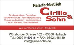 Bild zu Cirillo & Sohn GmbH in Haibach in Unterfranken