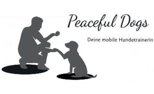 Logo von Peaceful Dogs Mobile Hundetrainerin
