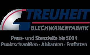 Logo von Treuheit Hans GmbH, Blechwarenfabrik