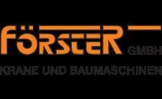 FÖRSTER GmbH - Krane und Baumaschinen