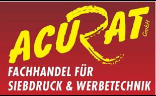 Logo von ACURAT GmbH FH f. Siebdruck & Werbetechnik