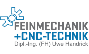 Logo von Feinmechanik + CNC-Technik Uwe Handrick