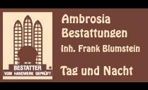 Logo von AMBROSIA BESTATTUNGEN