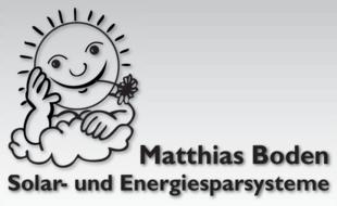 Solar- und Energiesparsysteme Matthias Boden