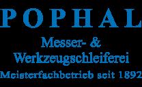 Logo von Messer- & Werkzeugschleiferei Pophal