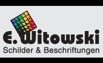 E. Witowski - Schilder & Beschriftungen