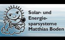 Logo von Solar- und Energiesparsysteme Matthias Boden