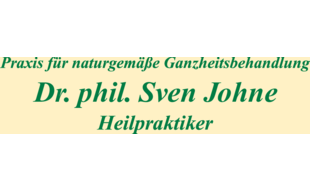 Dr. phil. Sven Johne, Praxis für naturgemäße Ganzheitsbehandlung