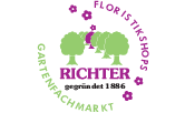 Logo von Gartenfachmarkt Richter