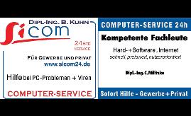 Logo von Sicom COMPUTER-SERVICE Dipl.-Ing. B. Kuhn