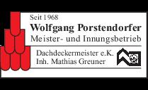 Dachdeckermeister Wolfgang, Porstendorfer e.K.