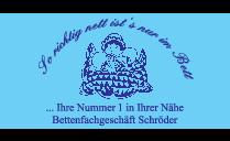 Logo von Betten-Fachgeschäft + Reinigung Schröder