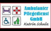 Logo von Ambulanter Pflegedienst Katrin Schulz GmbH