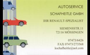 Bild zu Auto-Service Schafheitle GmbH in Mössingen