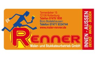 Bild zu Renner Maler- und Stukkateurbetrieb in Hemmendorf Stadt Rottenburg