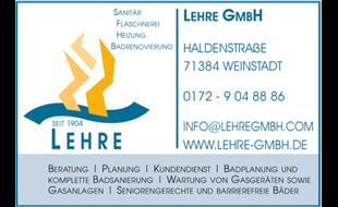 Bild zu LEHRE GMBH in Schnait Gemeinde Weinstadt