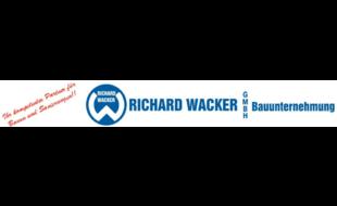 Logo von Wacker Richard Baunternehmung GmbH