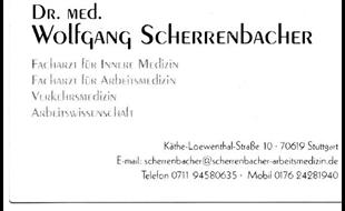 Logo von Scherrenbacher Wolfgang Dr.med.