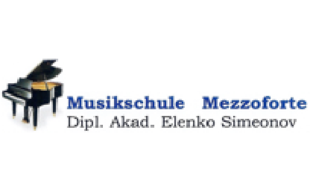 """Logo von """"Musikschule Mezzoforte"""" - Dipl. Akad. Elenko Simeonov (Musikunterricht auch bei Ihnen zuhause)"""