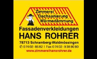 Rohrer Hans Zimmerei