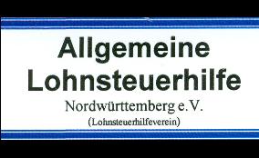 Logo von Allgemeine Lohnsteuerhilfe Nordwürttemberg e.V.