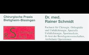 Schmidt Rainer Dr. med., FA für Allgemeine Chirurgie