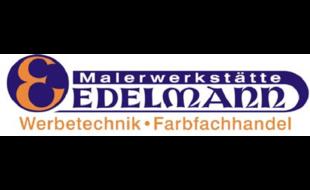 Logo von Edelmann Malerwerkstätte + Farbfachhandel + Künstlerbedarf + Werbetechnik