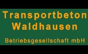 Logo von Transportbeton Waldhausen Betriebsgesellschaft mbH