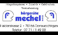 Logo von Hörgeräte Mechel