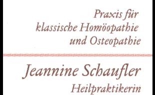 Logo von Schaufler Jeannine Heilpraktikerin, Homöopathie, Osteopathie, Psychotherapie